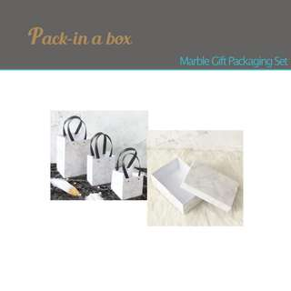 Marble Gift Packaging Set