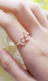 Ring rose gold colour
