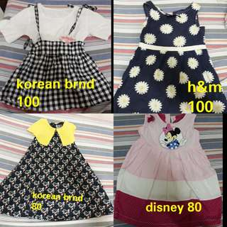 Preloved clothes for little girls