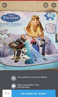 frozen puxzzle
