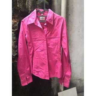 Bien Bleu Fuschia Shirt (Kemeja Pink)