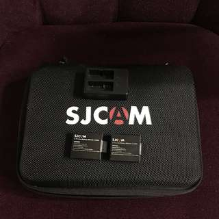 SJCAM Battery + Dual Charger 900mAh Rechargable 3.7V Li-ion Battery 900