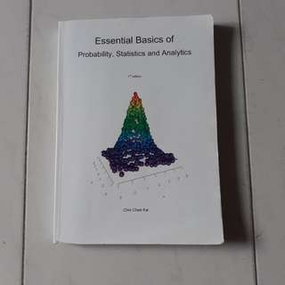 NTU Statistics Textbook (1st edition)