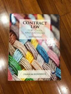 Contract Law Case Book