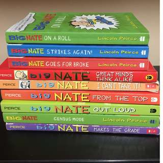 Big Nate books collection