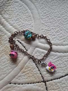 Kids bracelet wd charms