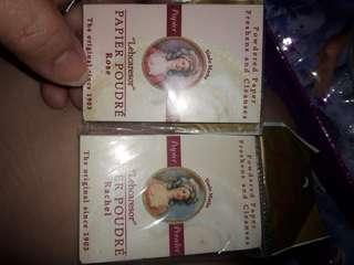 2 pcs set paper powders