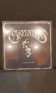 The carpenters yesterday once more