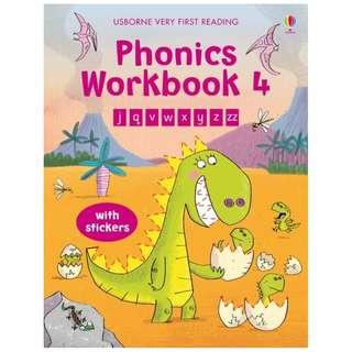 (Brand New) Phonics Workbook 4   Very First Reading     By: Mairi MacKinnon
