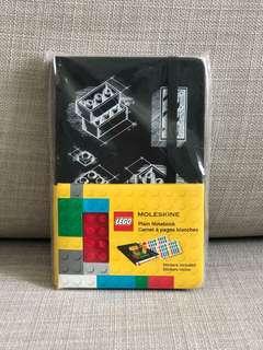 LEGO moleskin notebook