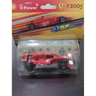 Mainan Mobil Ferrari F 2005