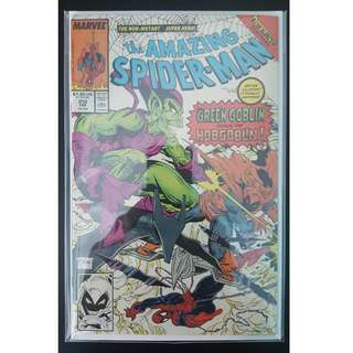 Amazing Spider-Man #312 (1989, 1st Series) Todd McFarlane's Awesomeness! Spidey Vs Green Goblin Vs Hobgoblin! Nuff Said!