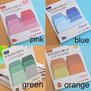 colour palette gradient sticky notes { preorder }