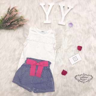 Lace Kids Top And Pants