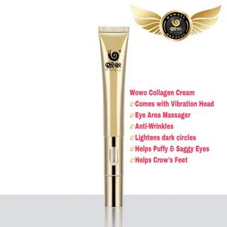 WOWO Collagen Peptide Eye Cream Massager