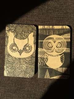 Thin Animal Notebooks