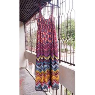 BRITISH INDIA Bohemian Dress