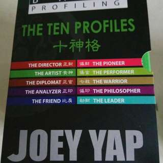 Joey Yap The Ten Profiles boxset
