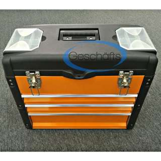 King Toyo Toolbox with Drawer (Orange)