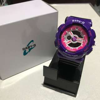 Baby G Casio Purple Watch
