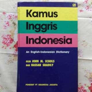 Kamus Bahasa Inggris - Indonesia