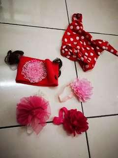 Baby girl headband (rm10 for all)