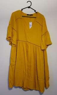 Sportsgirl Mustard Boho Dress