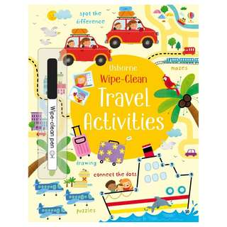(Brand New) Wipe-Clean Travel Activities  Wipe-clean Books    By: Kirsteen Robson, Manola Caprini (Illustrator)   Paperback