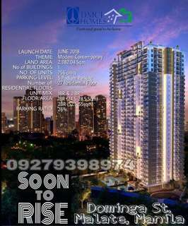 2BR NEW LAUNCH THIS JUNE IN PASAY DMCI CONDO