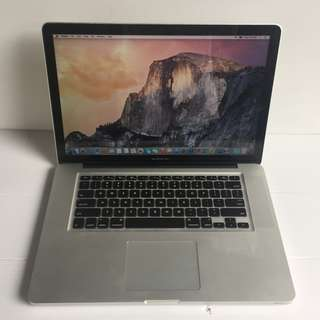 [USED] MacBook Pro 15 inch Late 2011, i7 2.4GHz, 4GB RAM, 500GB HDD, AMD Graphic 1GB, Condition Like NEW