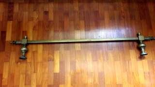 Antique Brass tapestry Rod
