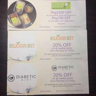 Healthy diet Vouchers