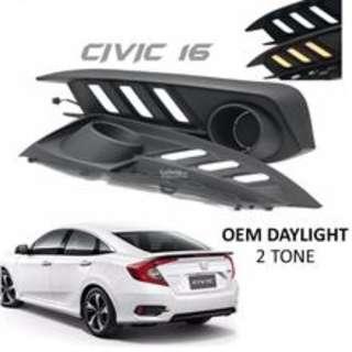 Honda Civic FC 2016-2018 DRL Daylight W/Signal