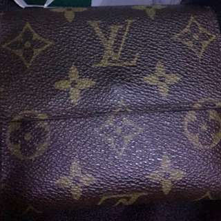 LV monogram Wallet Brand New wallet with credit card and  silver