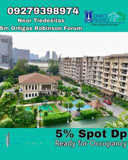 CONDO FOR SALE READY FOR OCCUPANCY IN PASIG DMCI LEVINA PLACE