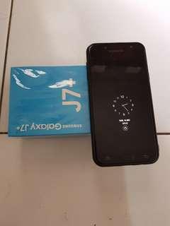 Samsung J7+ second