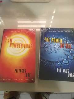 I am Number Four Series Book 1&2