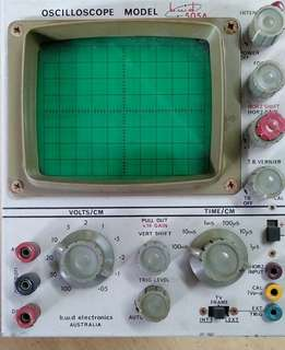 Oscilloscope Model B.W.D 505A