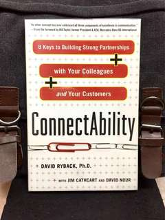 # Highly Recommended《Bran-New + Human Interaction & Communication Is Key Element In Making Success In Company》David Ryback - CONNECTABILITY : 8 Keys to Building Strong Partnerships with Your Colleagues and Your Customers