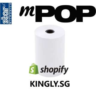 Star mPOP Receipt Printer Rolls