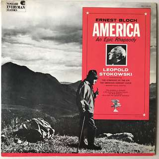 Ernest Bloch American An Epic Rhapsody Stokowski Vanguard 346