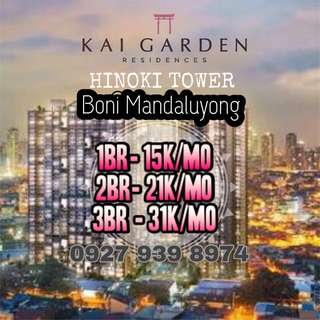 2BR CONDO FOR SALE BONI MANDALUYING NEW LAUNCH 3rd Tower HINOKI