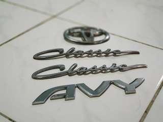K-car emblem avy classic