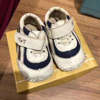 Trudy and Teddy Leather Shoes (6-12months)
