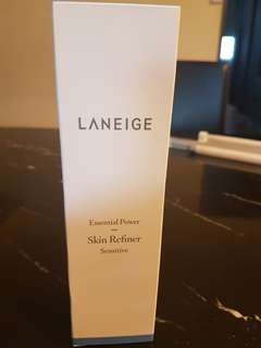 BNIB Laneige Essential Power Skin Refiner - Sensitive