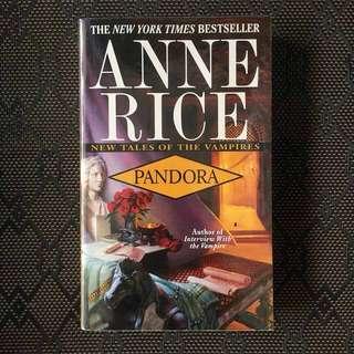 🌟 BRAND NEW 🌟 PANDORA by Anne Rice