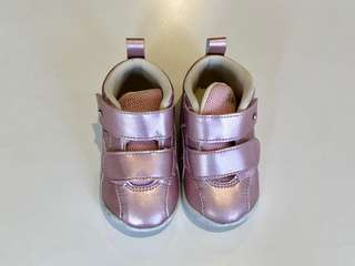 Asics toddler Metallic Pink shoes