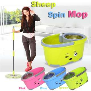 SHEEP SPIN MOP (stainless steel )