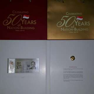 Noel SG50 NUMISMATIC S7 GOLD SET