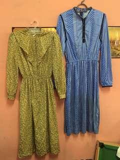 2 Vintage Dress